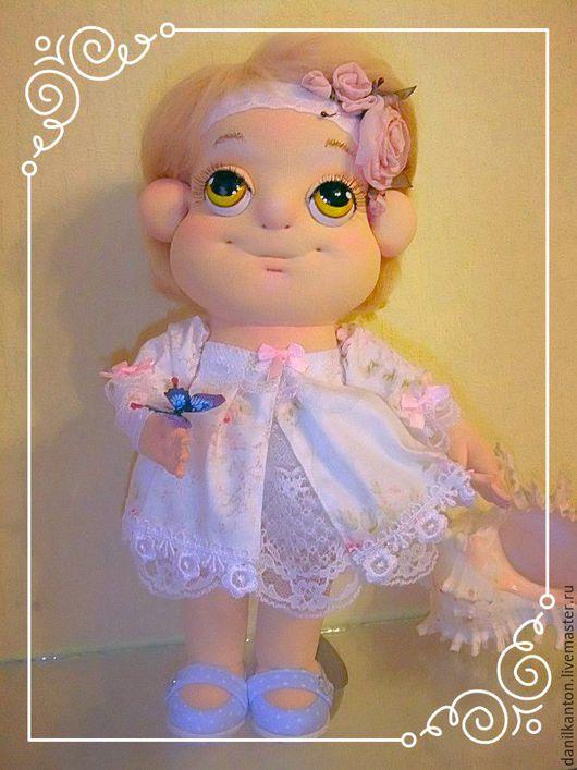 Коллекционные куклы ручной работы. Ярмарка Мастеров - ручная работа. Купить Нежность. Handmade. Комбинированный, кукла в подарок, кукла текстильная