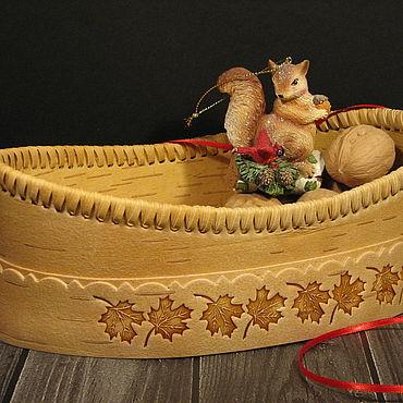 Для дома и интерьера ручной работы. Ярмарка Мастеров - ручная работа Лоток для хлеба. Handmade.