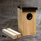 Для дома и интерьера handmade. Livemaster - original item Birdhouse handmade for birds