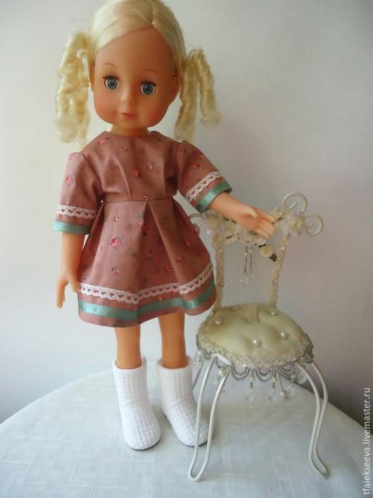 Одежда для кукол ручной работы. Ярмарка Мастеров - ручная работа. Купить Платье  для куклы и других игрушек. Handmade. Платье для куклы