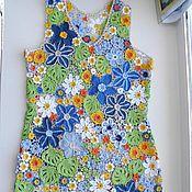 Одежда ручной работы. Ярмарка Мастеров - ручная работа Платье Почти июль Ирландское кружево. Handmade.