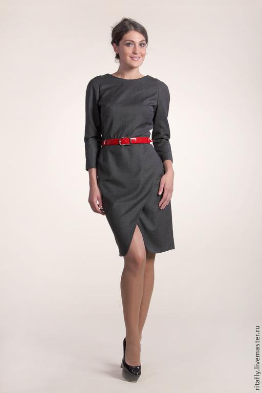 eff3dc12b63 Платья ручной работы. Ярмарка Мастеров - ручная работа. Купить 075  Платье  с запахом ...