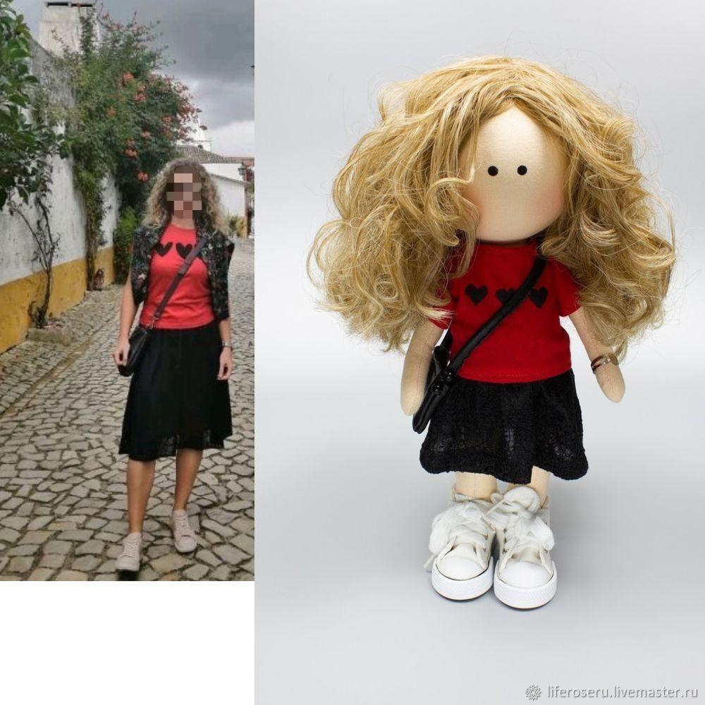Заказать Куклу ручной работы по фото, Куклы и пупсы, Екатеринбург,  Фото №1