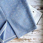 Одежда ручной работы. Ярмарка Мастеров - ручная работа НОВИНКА тёплая юбка карандаш, фактурная ткань. Handmade.
