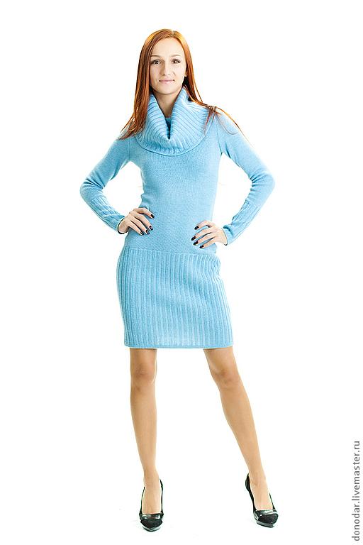"""Платья ручной работы. Ярмарка Мастеров - ручная работа. Купить Платье """" Голубая лагуна"""". Handmade. Голубой"""