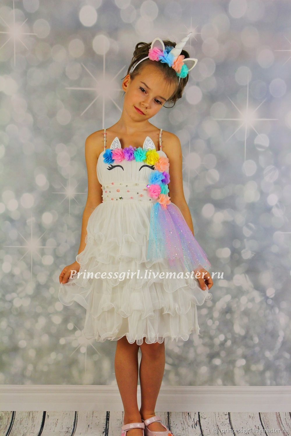 The costume of the unicorn, Carnival costumes for children, Moscow,  Фото №1