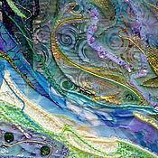 """Картины и панно ручной работы. Ярмарка Мастеров - ручная работа Панно """"Морские зарисовки"""". Handmade."""