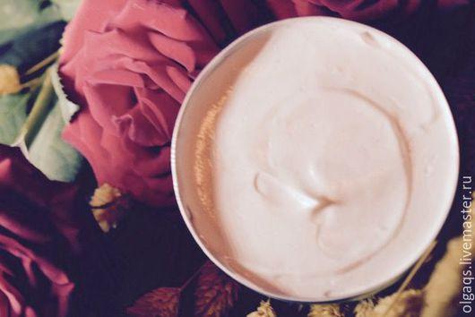 """Крем, гель, сыворотка ручной работы. Ярмарка Мастеров - ручная работа. Купить Питательный крем для тела """" Роза Марокко"""". Handmade."""