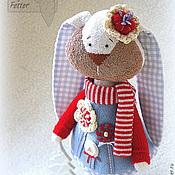 Куклы и игрушки ручной работы. Ярмарка Мастеров - ручная работа Текстильная зайка Мия. Handmade.