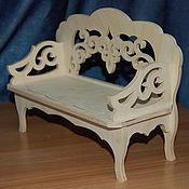 Материалы для творчества handmade. Livemaster - original item Doll sofa.185.. Handmade.