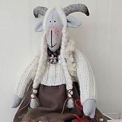 """Куклы и игрушки ручной работы. Ярмарка Мастеров - ручная работа Тильда Коза"""" Меланья"""". Handmade."""