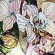 """Тарелки ручной работы. Тарелка декоративная """"Орхидеи"""". Перфект•studio роспись/декор. Ярмарка Мастеров. Тарелка декоративная, тарелка ручной работы, поталь"""