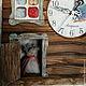 Часы для дома ручной работы. Домик для совы. Дарья Шарычева, Наталья Алексашина. Интернет-магазин Ярмарка Мастеров. Сова