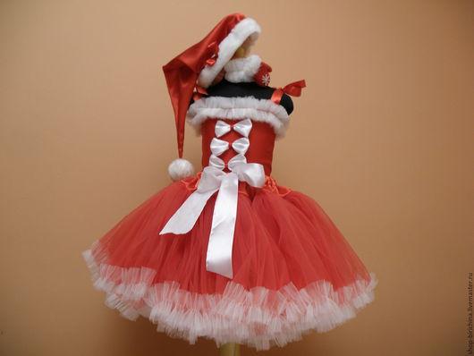 Детские карнавальные костюмы ручной работы. Ярмарка Мастеров - ручная работа. Купить Костюм карнавальный новогодний. Handmade. Ярко-красный