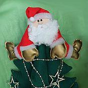 Куклы и игрушки ручной работы. Ярмарка Мастеров - ручная работа Дед Мороз на елке. Handmade.