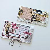 Открытки ручной работы. Ярмарка Мастеров - ручная работа конверт подарочный для денег мужчине. Handmade.