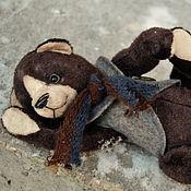 Куклы и игрушки ручной работы. Ярмарка Мастеров - ручная работа Мишка Тедди Барни. Handmade.