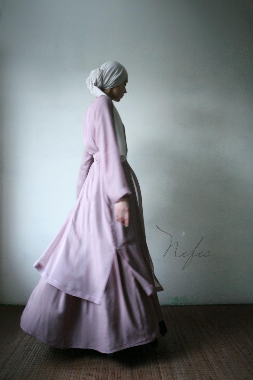 """Платья ручной работы. Ярмарка Мастеров - ручная работа. Купить Платье """"Инаам"""". Handmade. Платье, платье в пол, бледно-розовый"""