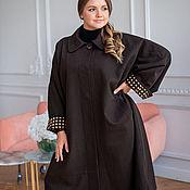 Одежда handmade. Livemaster - original item Coat made of Italian wool oversize