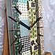 """Часы для дома ручной работы. Ярмарка Мастеров - ручная работа. Купить Часы настенные """"Дачное время"""". Handmade. Разноцветный"""