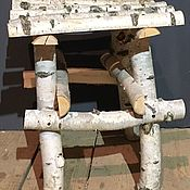 Табуреты ручной работы. Ярмарка Мастеров - ручная работа Табурет в стиле кантри. Handmade.