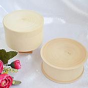 Материалы для творчества handmade. Livemaster - original item Round boxes made of solid wood. Handmade.