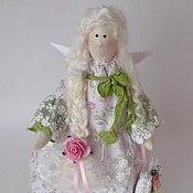 Куклы Тильда ручной работы. Ярмарка Мастеров - ручная работа Весенний ангел.. Handmade.