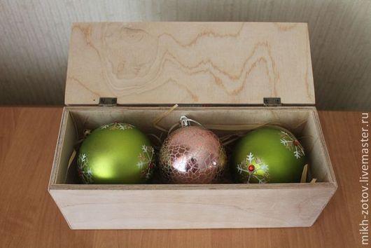 Короб для  новогодних шаров