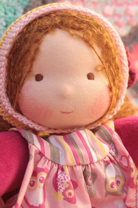 Вальдорфская кукла Зоинька 33 см .Julia Solarrain (SolarDolls) Ярмарка Мастеров