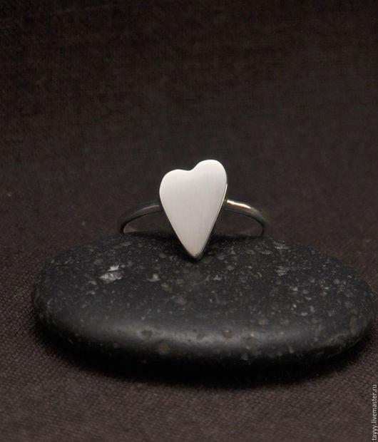 """Кольца ручной работы. Ярмарка Мастеров - ручная работа. Купить Кольцо """"Сердце"""". Handmade. Серебряный, сердце"""