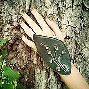 """Украшения ручной работы. Ярмарка Мастеров - ручная работа Браслет-трансформер """"Silberblumen"""" (Серебряные цветы). Handmade."""