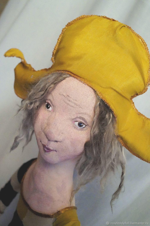 После аплодисментов... (по мотивам Арлекина Клода Верлинда), Портретная кукла, Новомосковск,  Фото №1