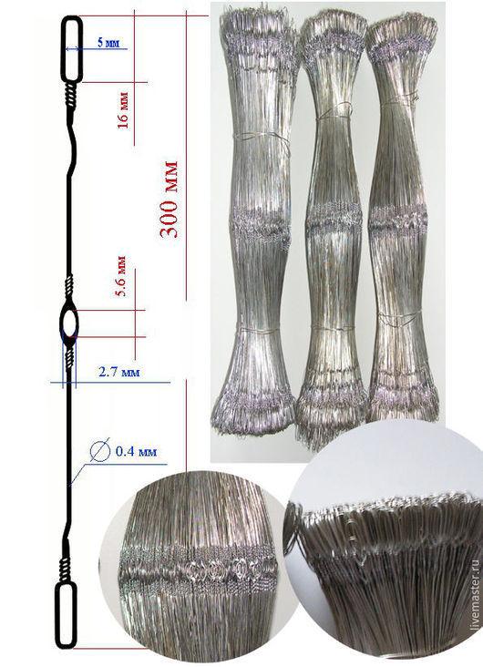 Другие виды рукоделия ручной работы. Ярмарка Мастеров - ручная работа. Купить ГАЛЕВА металлические для ткацкого станка. Handmade. Серый