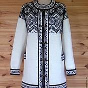 Одежда ручной работы. Ярмарка Мастеров - ручная работа кофта вязаная ручной работы натуральная шерсть. Handmade.