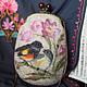 Женские сумки ручной работы. Ярмарка Мастеров - ручная работа. Купить Сумочка валяная Прелюдия. Handmade. Рисунок, валяная, шерсть