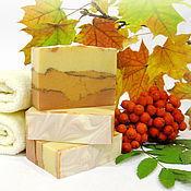 """Мыло ручной работы. Ярмарка Мастеров - ручная работа """"Осенний лист"""" натуральное мыло. Handmade."""