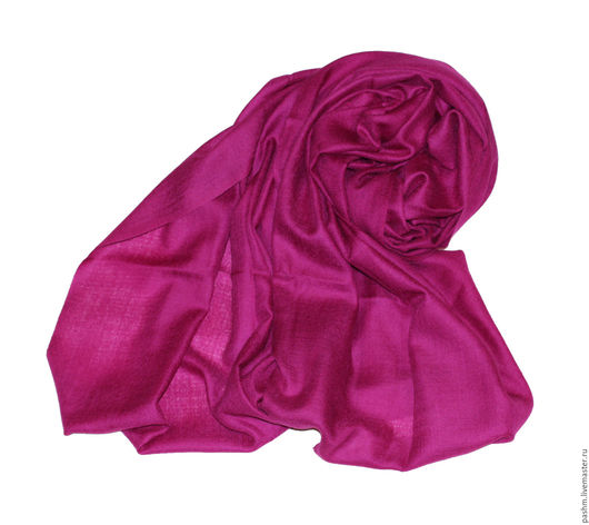 Палантин из натурального кашемира популярнейшего оттенка Pink Yarrow (Розовый Тысячелистник)