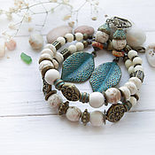 Украшения handmade. Livemaster - original item Set - bracelet and earrings