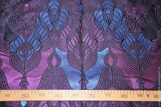 """Шитье ручной работы. Ярмарка Мастеров - ручная работа. Купить ЭКСКЛЮЗИВ! Шелковый жаккард """"Armani"""". Handmade. Ткани для шитья"""