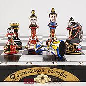 Активный отдых и развлечения handmade. Livemaster - original item painted chess