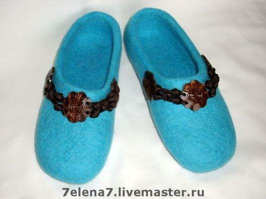 """Обувь ручной работы. Ярмарка Мастеров - ручная работа. Купить Тапочки """" Венера"""". Handmade. Валяные тапочки, войлочные тапочки"""