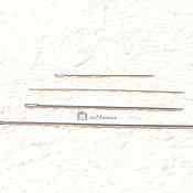 Инструменты для кукол и игрушек ручной работы. Ярмарка Мастеров - ручная работа Игла кукольная для утяжки. Handmade.