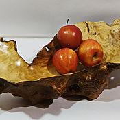 """Вазы ручной работы. Ярмарка Мастеров - ручная работа Ваза из берёзового сувеля -""""Чудо - юдо рыба кит"""". Handmade."""