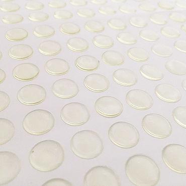 Материалы для творчества ручной работы. Ярмарка Мастеров - ручная работа Эпоксидные наклейки прозрачные 1 см и 2,5 см, 10 шт. Handmade.