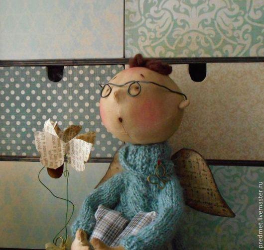 """Коллекционные куклы ручной работы. Ярмарка Мастеров - ручная работа. Купить По мотивам работы """"Мысли-бабочки"""". Handmade. Ангел"""