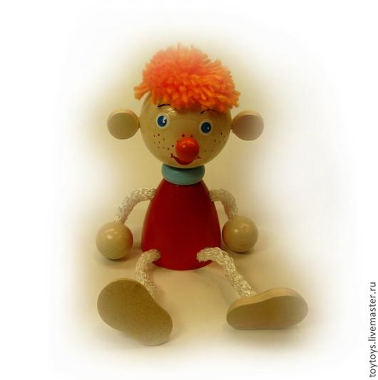 """Человечки ручной работы. Ярмарка Мастеров - ручная работа. Купить Игрушка """"Самоделкин"""" на пружинке. Handmade. Игрушка для детей, игрушка для ребенка"""