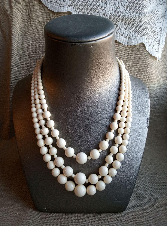 Beads Classic. options. bone, Necklace, Nakhabino,  Фото №1