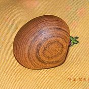 Кольца ручной работы. Ярмарка Мастеров - ручная работа Деревянное кольцо 17 размер. Handmade.