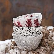 Посуда ручной работы. Ярмарка Мастеров - ручная работа Пиала Точки-раку. Handmade.