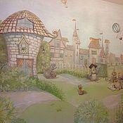 Дизайн и реклама ручной работы. Ярмарка Мастеров - ручная работа Роспись детской комнаты. Handmade.